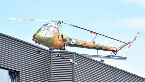 Saunders-Roe Skeeter AOP.12 c/n S2/7147 United Kingdom Army serial XN341