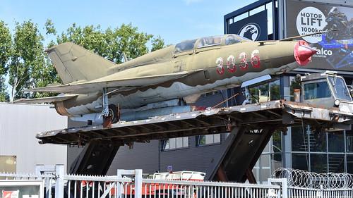 Mikoyan-Gurevich MiG-21UM c/n 516903036 Hungary Air Force serial 3036
