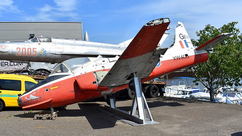 BAC Jet Provost T.5A c/n EEP/JP/1028 United Kingdom Air Force serial XW406