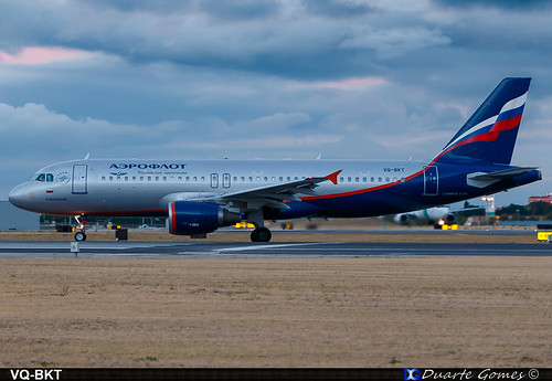 Airbus A320-214 VQ-BKT