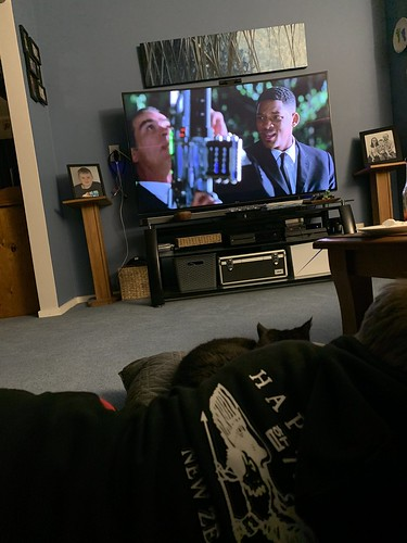 Men in Black with Cooper