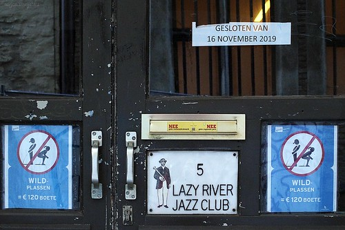 Lazy River Jazz Club, Ghent, Belgium
