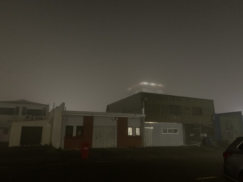 Foggy nights after training