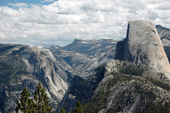 Half Dome & Yosemite Valley (Sierra Nevada Mountains, California, USA) 7
