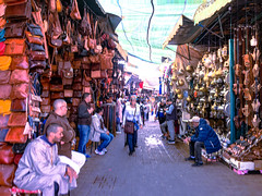 Old Medina, Marrakech, Morocco, 摩洛哥