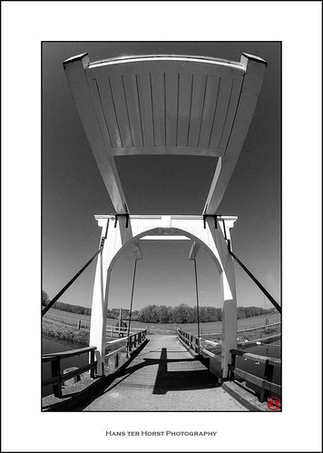 Bridge over the River Berkel, Almen, Gelderland, Netherlands