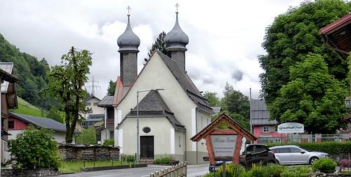 Dalaas Wallfahrtskirche Hl Kreuz von 1748