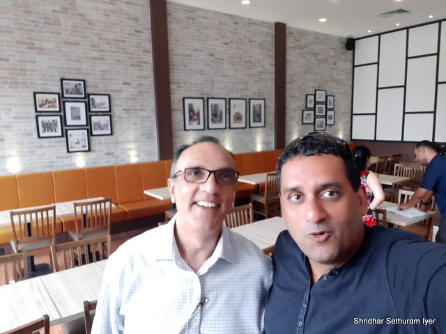 192 -Singapore - With Sanjay - A colleague who set me up in values and business- has not changed at all