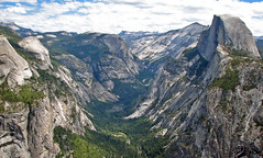 Half Dome & Yosemite Valley (Sierra Nevada Mountains, California, USA) 5