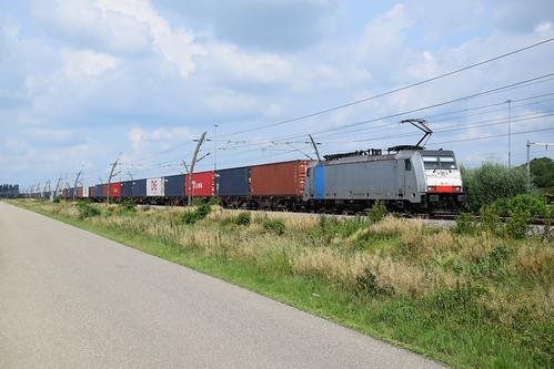 Kombi Rail Europe 186 102 met tr 41741 (17-6-2020)