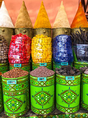 Spices, Old Medina, Marrakech, Morocco, 摩洛哥