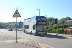 YN67 YLL (Route 26) at Hastings Railway Station