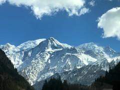 Mont Blanc. Les Étages (Francia).