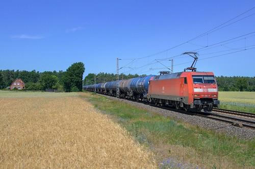 DB Cargo 152 160, Rohrsen