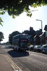 YN67 YLJ (Route 99) at Wickham Avenue, Bexhill