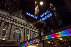Metro-North Railroad Lights Up Pershing Square Bridge to Honor Anniversary of Stonewall Uprising