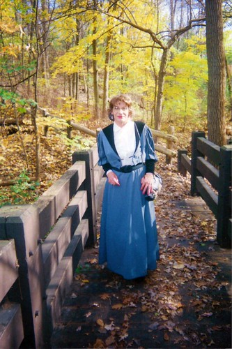 The Itinerant Schoolmarm Making Her Rounds