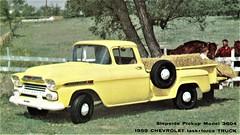 1959 Chevrolet Stepside Pickup