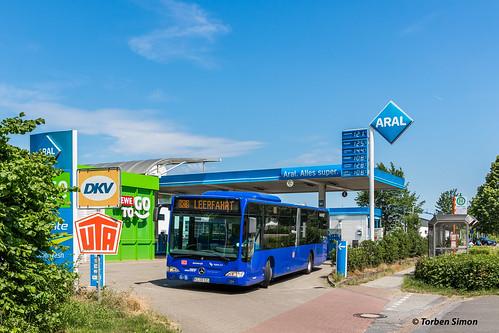 Autokraft 121 (10019) | Schwarzenbek, Möllner Straße (ARAL)