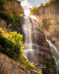 Stewart Falls near Sundance, Utah [EXPLORED]
