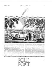 1926 Rolls-Royce Roadster