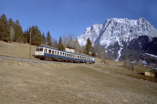 DB treinstel 628.1  Lermoos