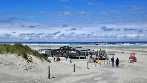 Terschelling: Midsland aan Zee, beach pavilion