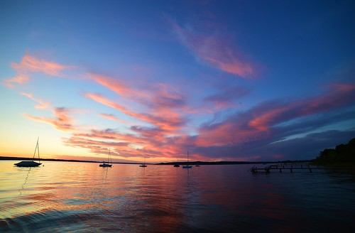 Herrsching - Ammersee Afterglow