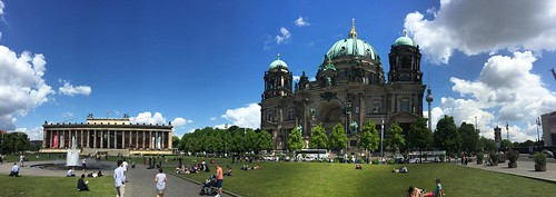 Panorámica de la Catedral de Berlín (Alemania).