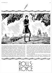 1927 Rolls-Royce Roadster Ad