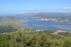 Desembocadura del río Miño. Poio (Pontevedra).