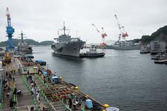 USS Blue Ridge (LCC 19) returns to Commander, Fleet Activities Yokosuka.