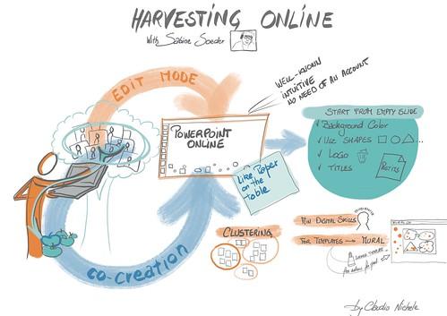 Harvesting online, webinar