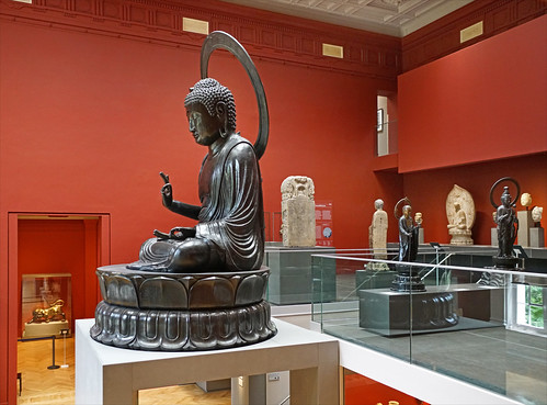 Le Bouddha Amida (Musée Cernuschi, Paris)