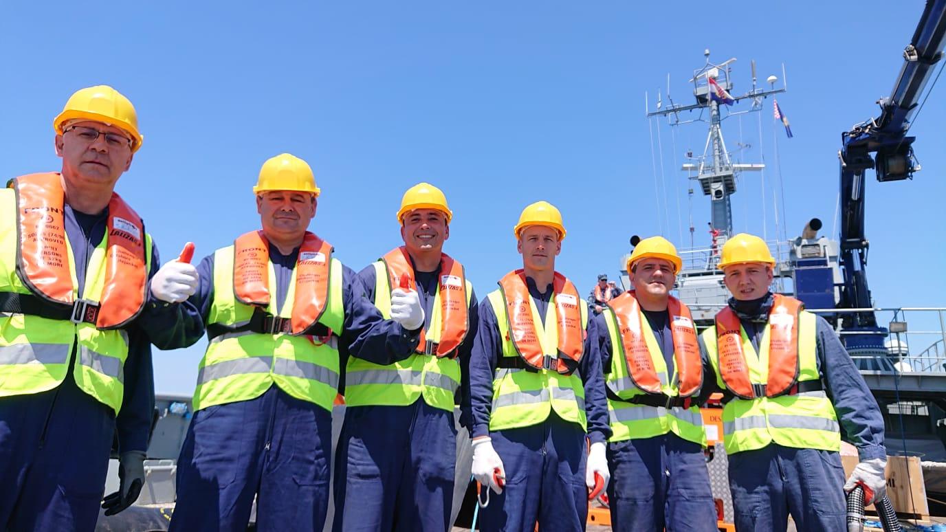 Vježba Obalne straže RH
