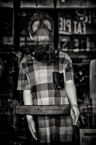 the boy in the gas mask