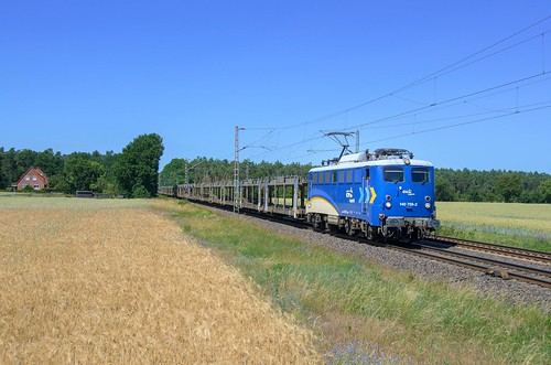 EVB 140 759, Rohrsen