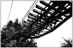 Historic railway bridge