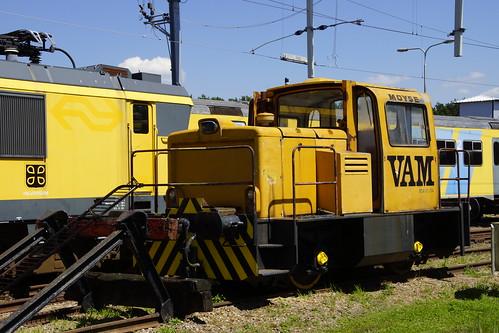 Ex VAM BDA - DI 014 Ex in het Brandweeroefencentrum Noord in Wijster 26-06-2020