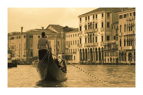 Venice - gondola ride and serenade