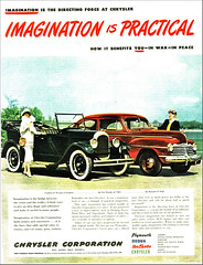 1945 Chrysler Corporation Ad