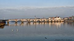 Mâcon : le pont Saint-Laurent