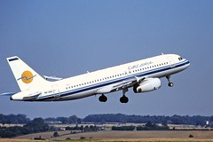 5B-DBD A320 Eurocypria Luton 04-09-99
