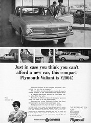 1965 Plymouth Valiant 100 2-Door Sedan