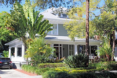 American Foursquare Style House, Hyde Park, Tampa