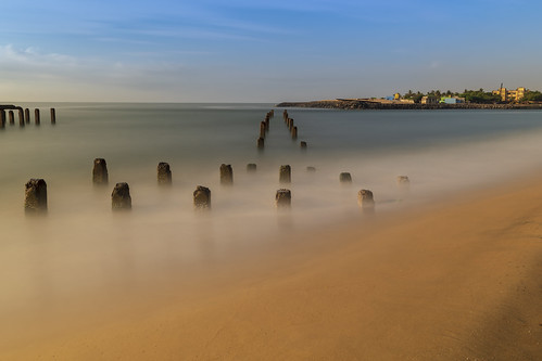 Broken Pier, Ennore Beach