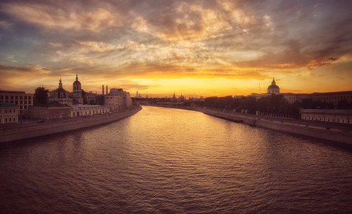 Summer Evening in Moscow