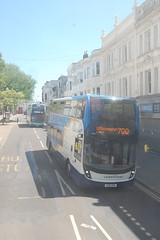 SN18 KNM (Route 700) at Western Road, Brighton