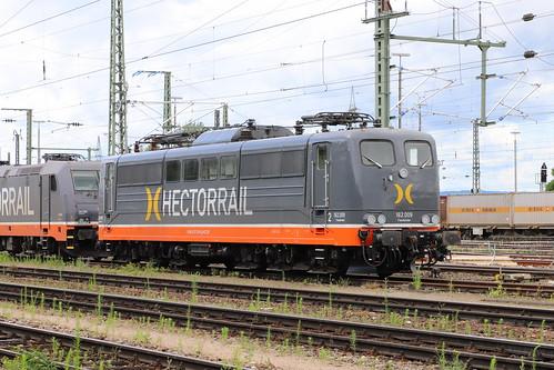 HectorRail 162.009 / 151 128-9 Fassbinder, Weil am Rhein