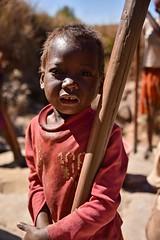 A Working Child, Madagascar